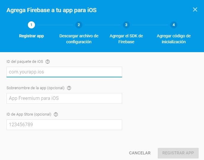 Primera App con Firabase